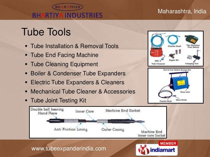 Maharashtra, IndiaTube Tools Tube Installation & Removal Tools Tube End Facing Machine Tube Cleaning Equipment Boiler ...
