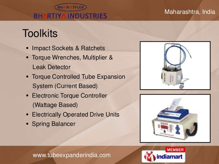 Maharashtra, IndiaToolkits Impact Sockets & Ratchets Torque Wrenches, Multiplier &  Leak Detector Torque Controlled Tub...