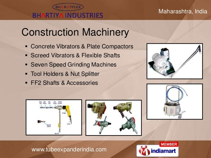 Maharashtra, IndiaConstruction Machinery Concrete Vibrators & Plate Compactors Screed Vibrators & Flexible Shafts Seven...