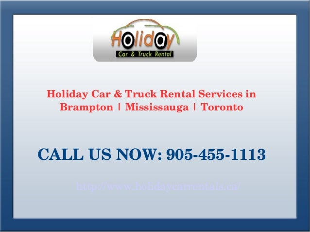 Car And Truck Rental Mississauga