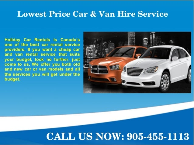 Best Car Rental Price Toronto