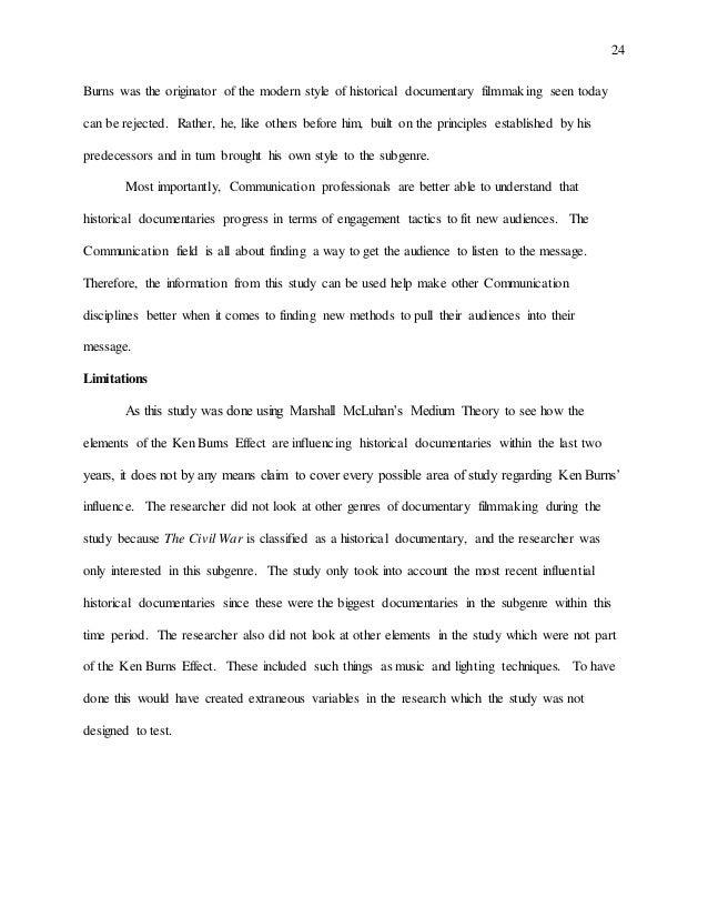 history senior thesis