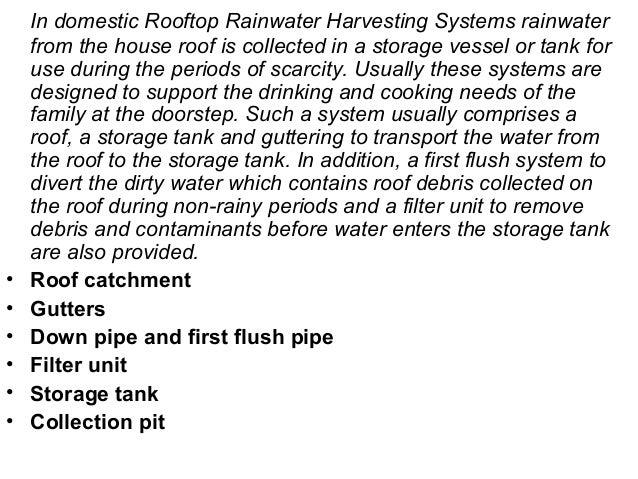 7145044 Rain Water Harvesting