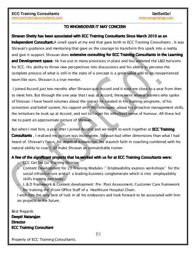 ECC Training Consultants GetSetGo! www.ecctrainingconsultants.com www.eccgetsetgo.com ____________________________________...