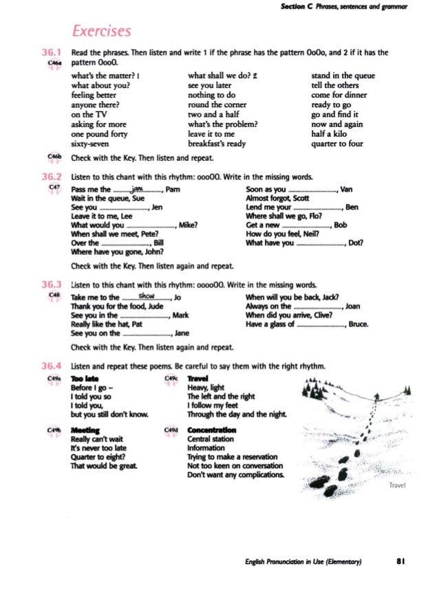 English Pronunciation in Use - Elementary