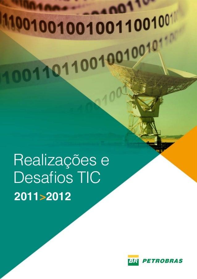 1 Realizações e Desafios TIC 2011>2012