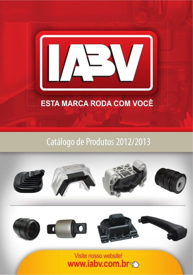 Catálogo de Produtos 2012/2013