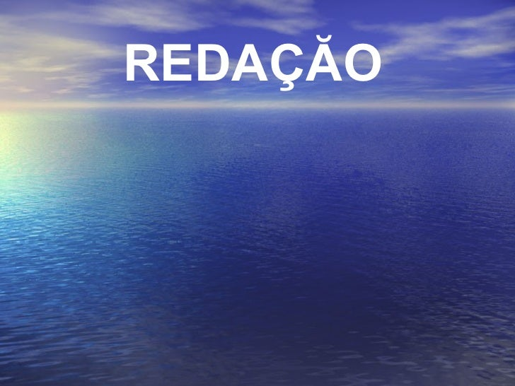 REDAÇĂO