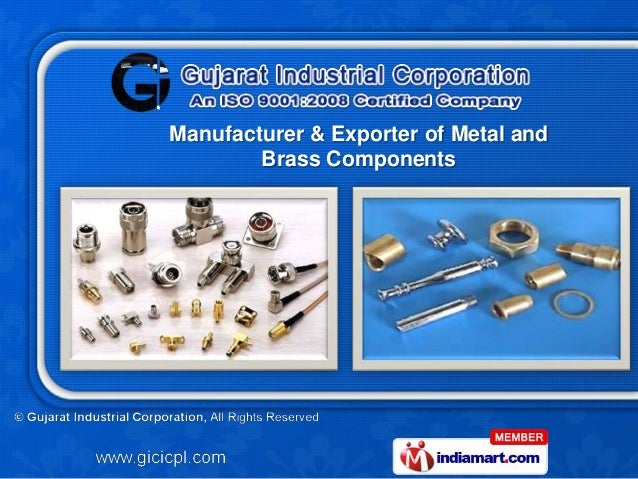Manufacturer & Exporter of Metal and        Brass Components