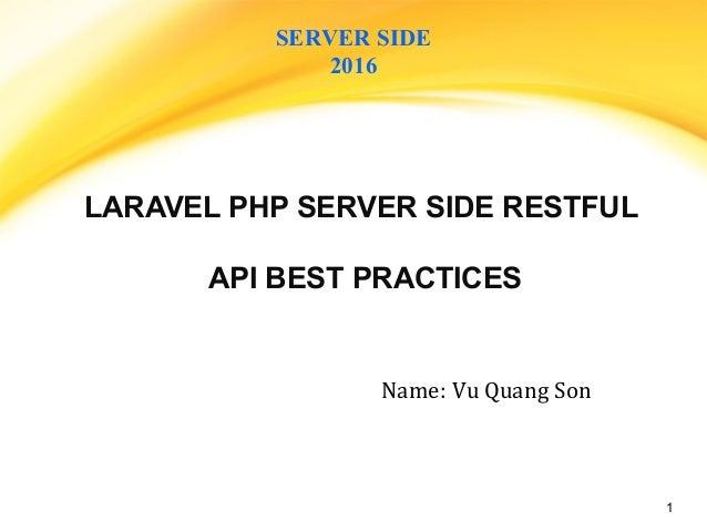 PHP Server side restful API - linkedin
