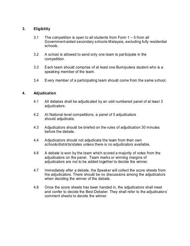 first speaker debate template - 717 debate rules guideline