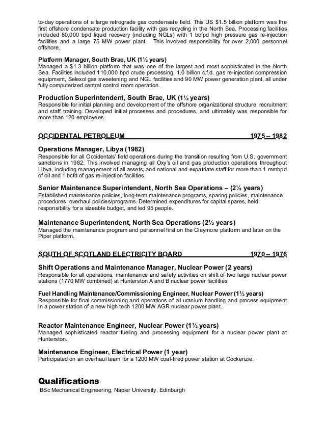 Exelent Nuclear Engineering Resume Uk Sketch - Administrative ...