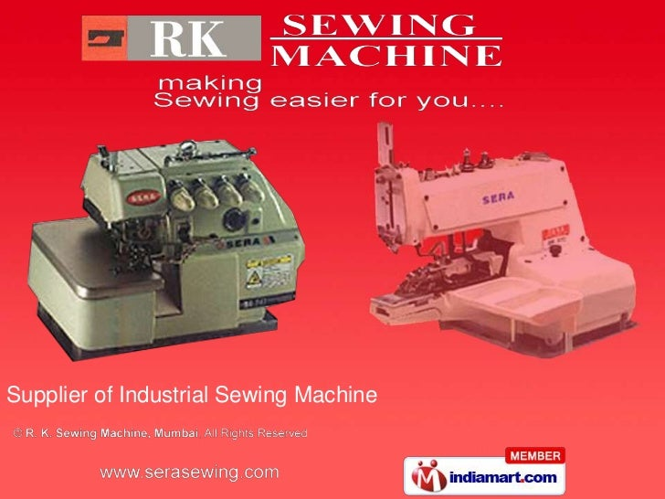 Supplier of Industrial Sewing Machine