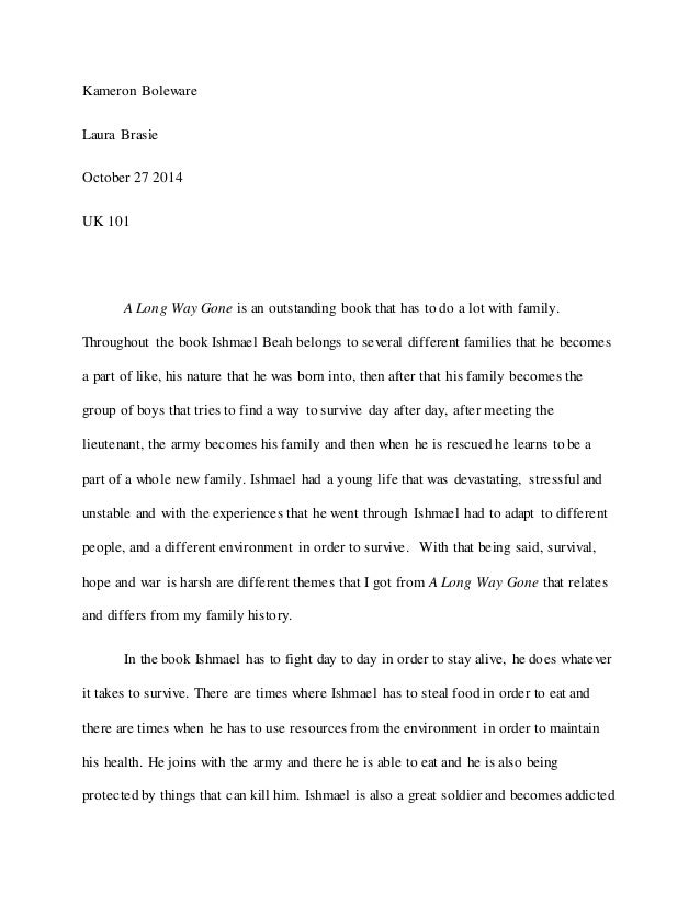 Science Fair Essay My Family Tree Essay A Long Way Gone Essay About Family History  High School Argumentative Essay Examples also Term Papers And Essays My Family History Essay  Barcafontanacountryinncom High School Essay Writing