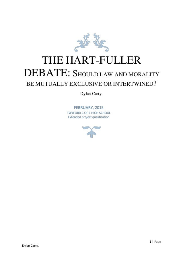 hart and the separability thesis Jurisprudence social legal | free jurisprudence law essay introduction hart emphasized on the 'separability thesis' he does not reject the connection between laws and morals, but he argued that there is no necessary connection between the two.