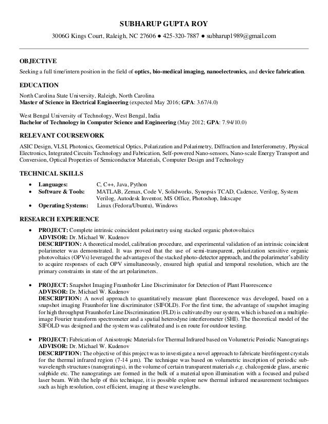 Resume_optics_Gupta Roy
