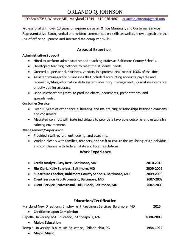 edited orlando q  johnson adminstrative assistant resume 2015