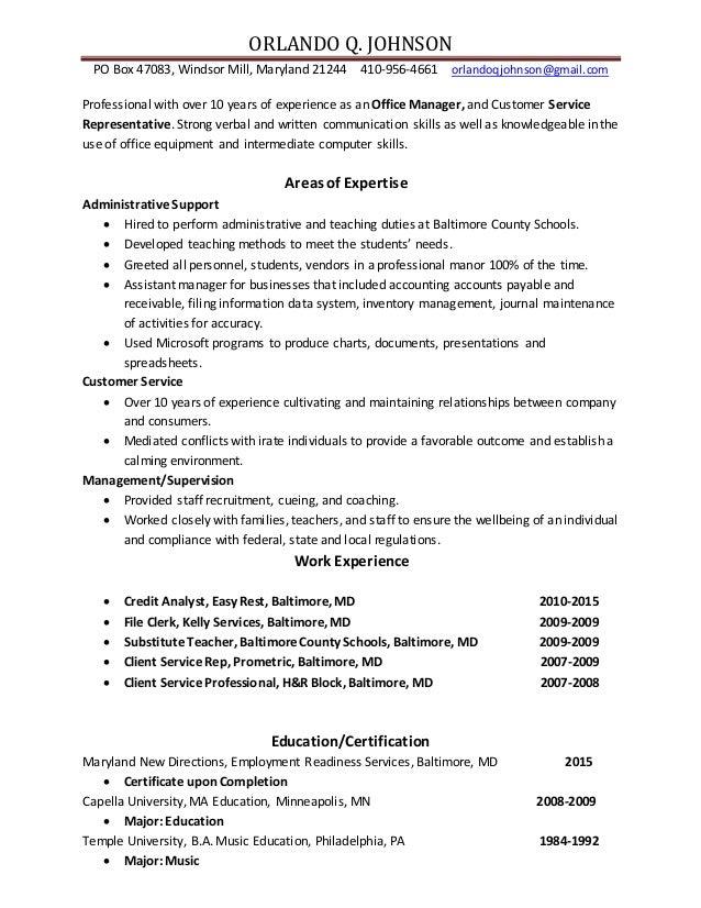 edited orlando q  johnson adminstrative assistant resume 2015