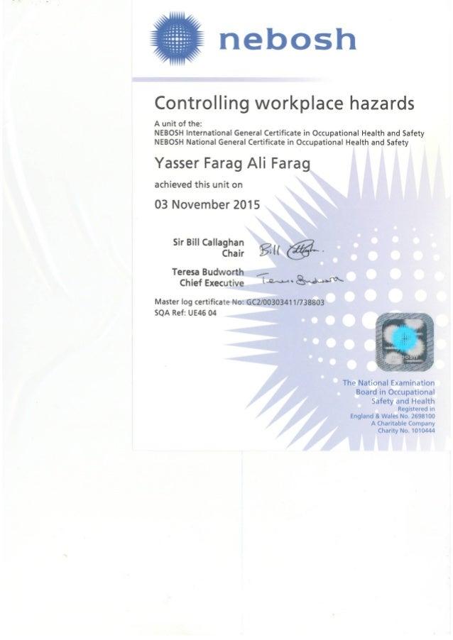 Igc2 Nebosh Certificate