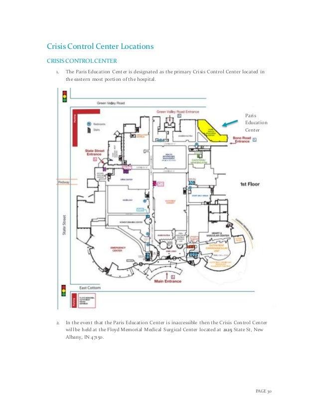 FMH Crisis Management Plan on