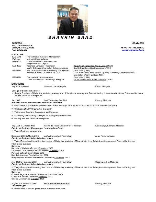Resume     JobStreet com