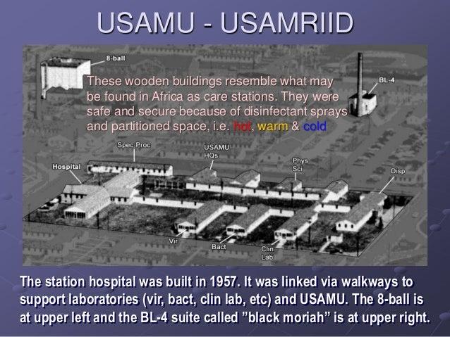 Usamriid ebola airborne study