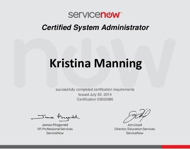 ServiceNowCert