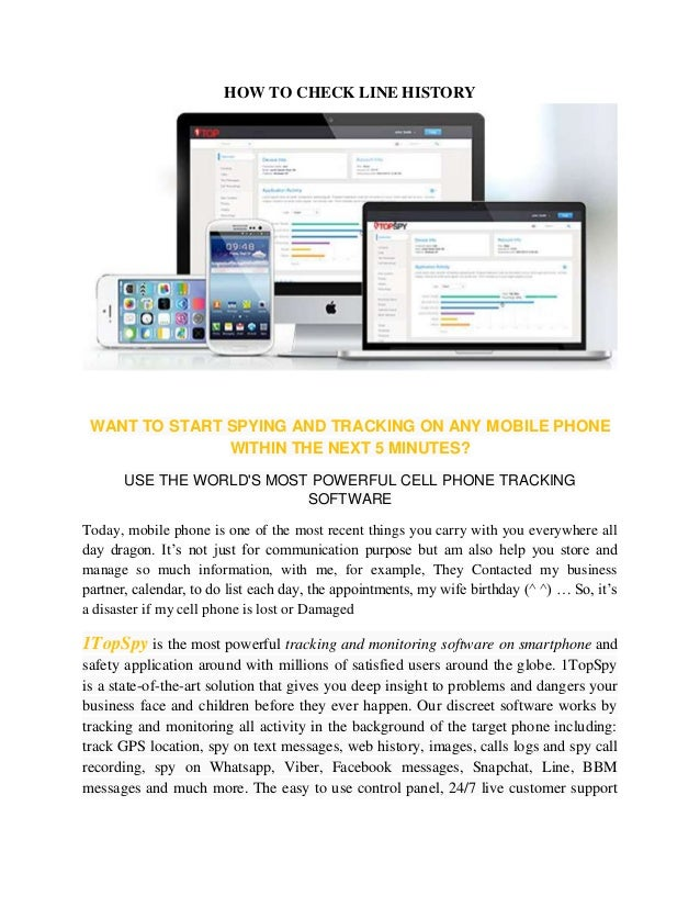 HOW TO CHECK LINE HISTORY  WANT TO START SPYING AND TRACKING ON ANY MOBILE PHONE  WITHIN THE NEXT 5 MINUTES?  USE THE WORL...