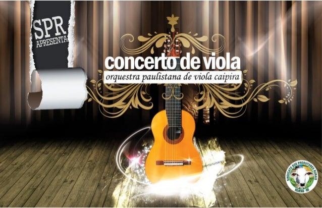 SPR - Orquestra Paulistana de Viola Caipira