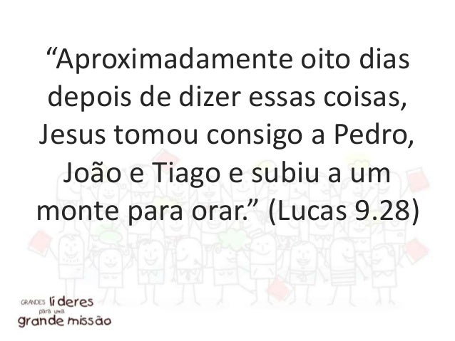 """""""Certo dia Jesus estava orando em um determinado lugar."""" (Lucas 11.1a)"""