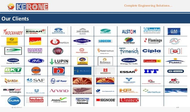 Complete Engineering Solutions… 9/6/2017 18 Our Clients