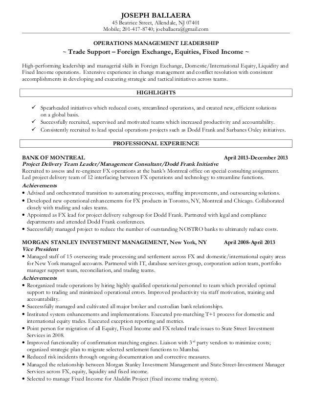 Equity Prop Trader Resume Contegri Com