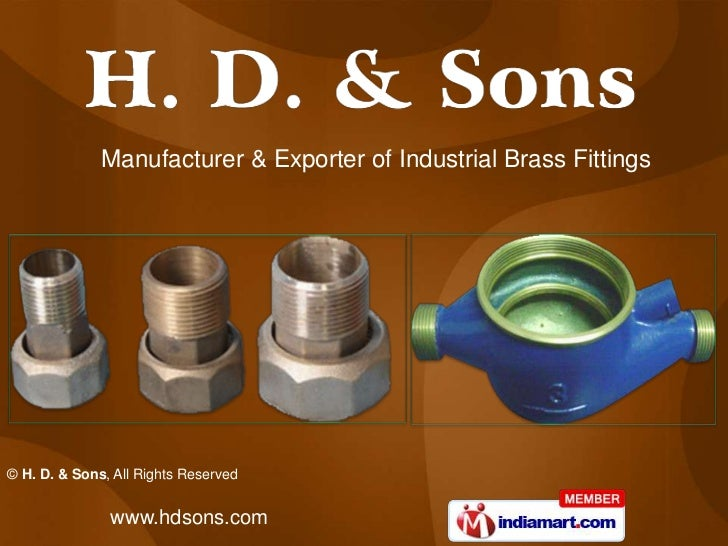 Manufacturer & Exporter of Industrial Brass Fittings<br />