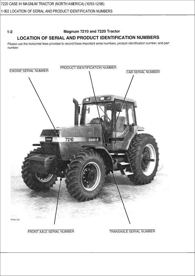 7220 case ih magnum tractor north america parts catalog rh slideshare net Case IH 7140 Case IH 8950