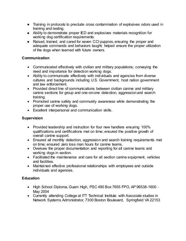 edd resume