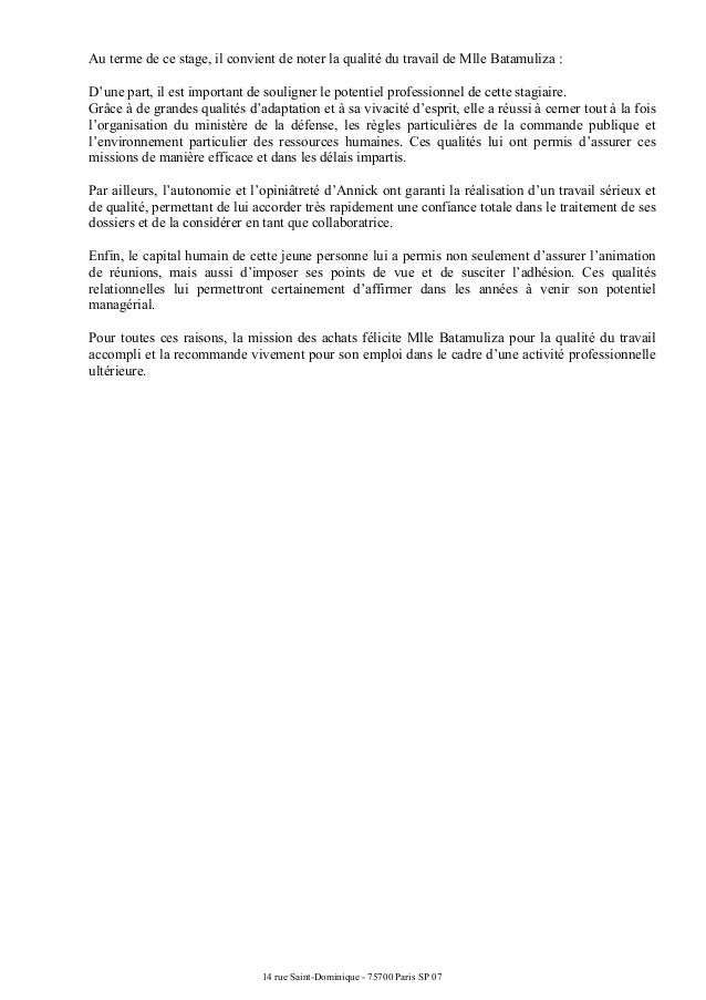 lettre de recommandation comptable Lettre recommandation Mindef lettre de recommandation comptable