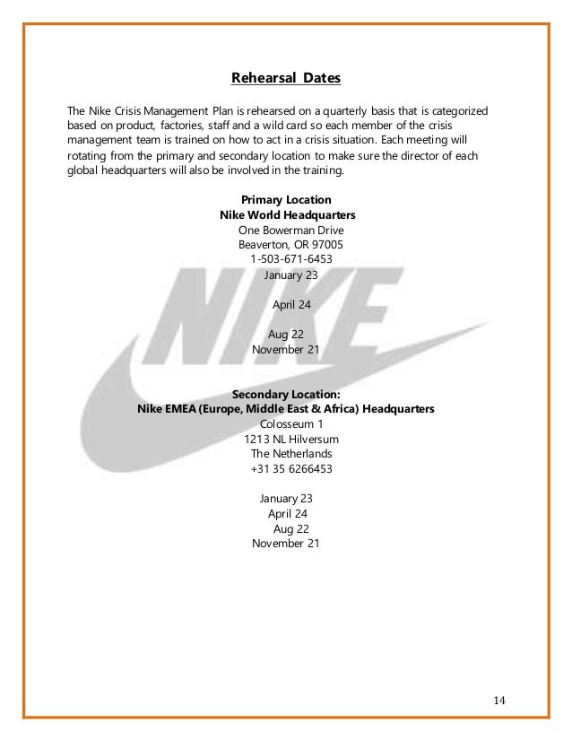 stakeholders nike Nike inc and sweatshops stakeholder analysis who makes up internal (primary) & why are they concerned internal stakeholders have an inherent vested interest in the company because actions of the company directly and personally affect them.