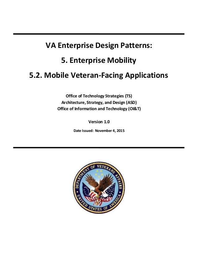 5 2 Mobile Veteran Facing Applications Design Pattern Signed