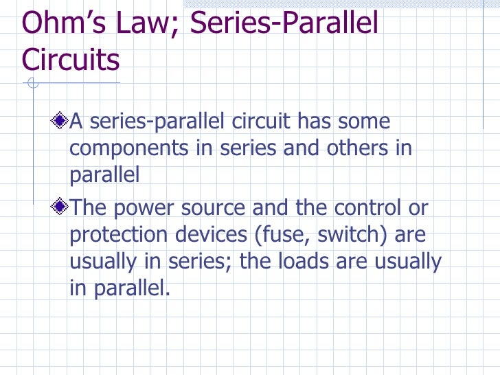 7260323 ohms law series parallel circuit series parallel wiring ohms