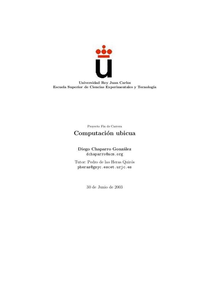 Universidad Rey Juan CarlosEscuela Superior de Ciencias Experimentales y Tecnolog´                                        ...