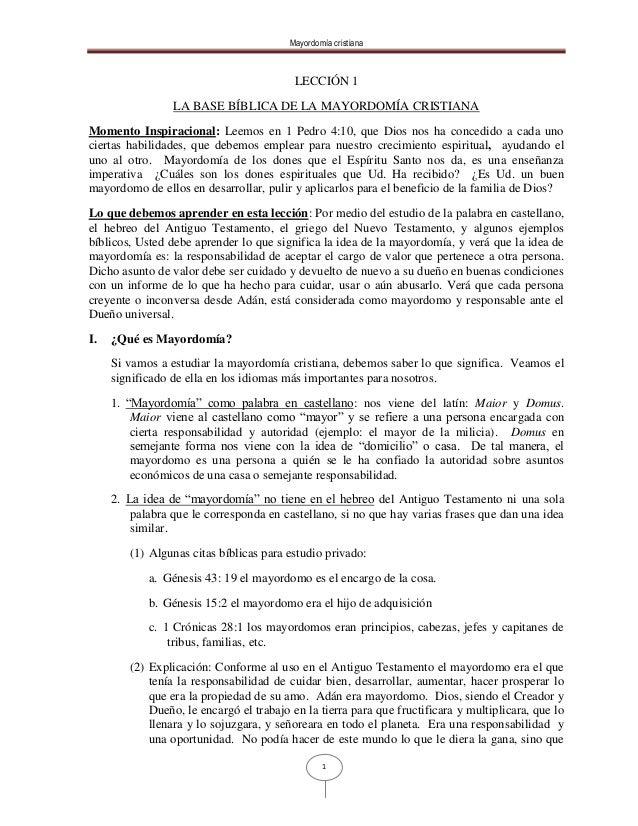72753225 Bases Biblicas De La Mayordomia