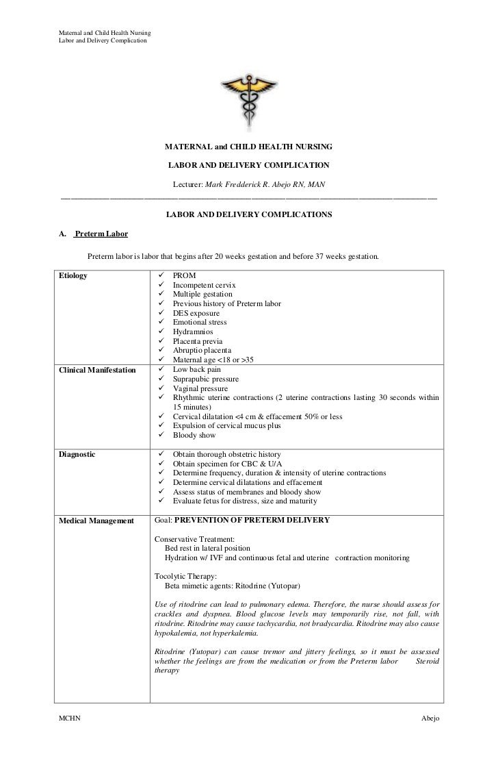 labor and delivery description business resume