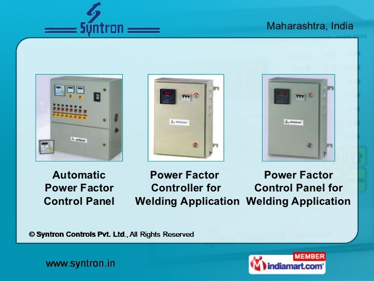 Automatic Power Factor Control Panel Power Factor  Controller for  Welding Application Power Factor Control Panel for Weld...
