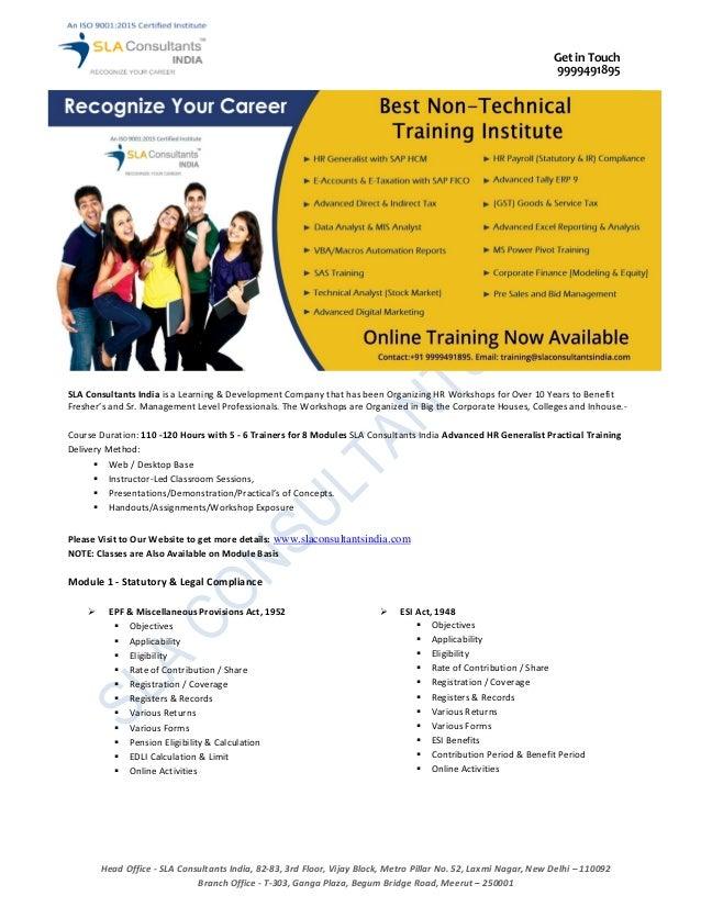 Advanced HR Generalist Training1