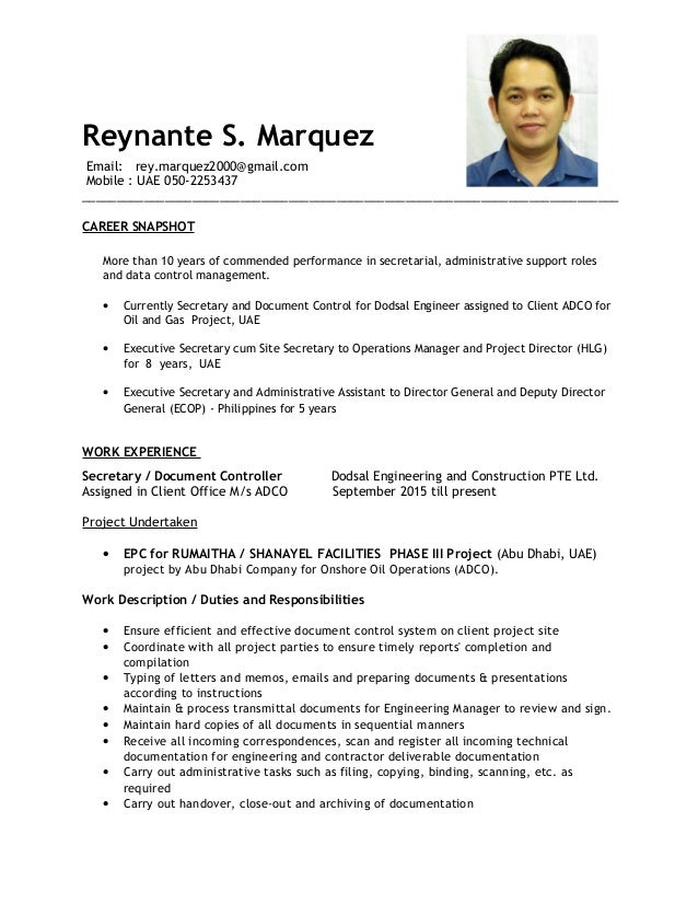 CV_Reynante Marquez