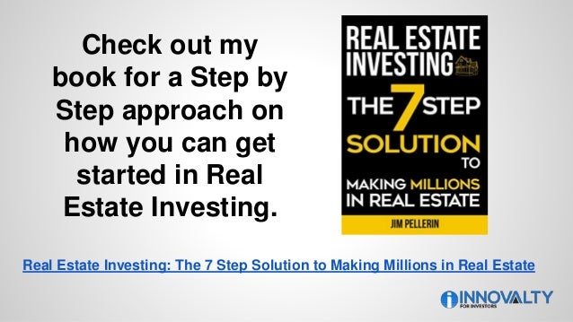 Check out my book for a Step by Step approach on how you can get started in Real Estate Investing. Real Estate Investing: ...