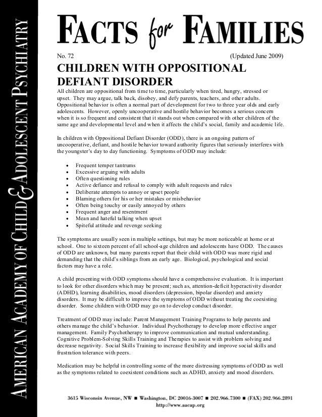 The defiant child pdf