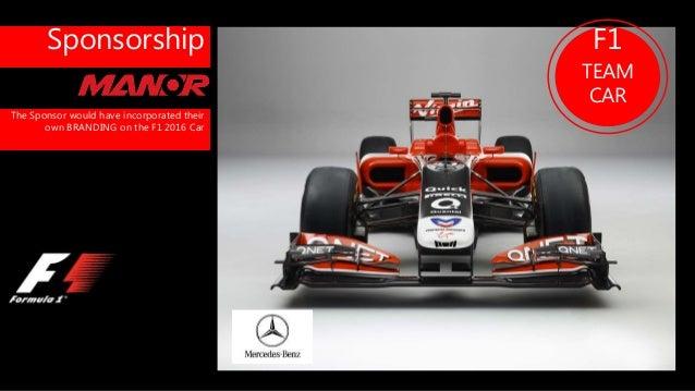 master f1 sponsorship 2016 season