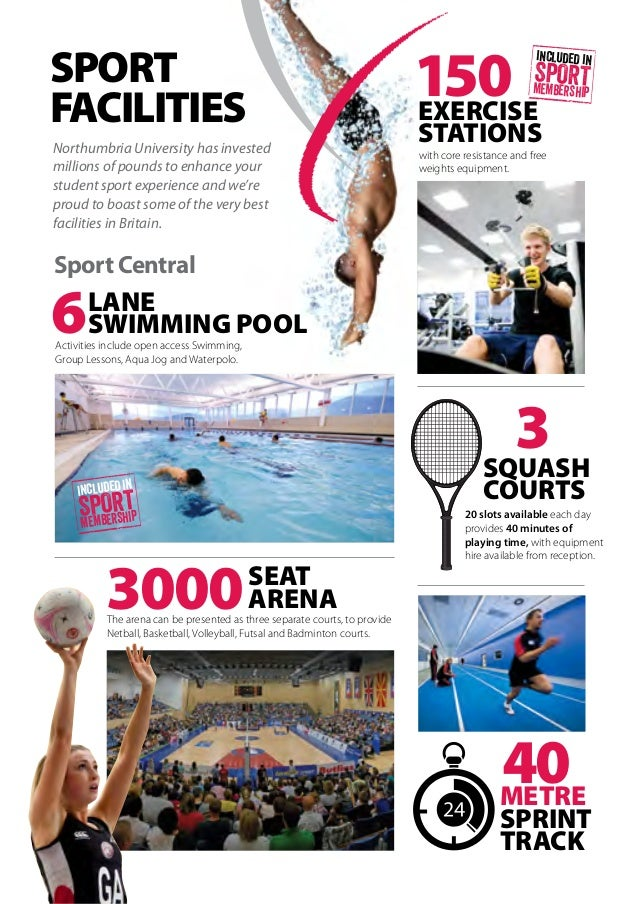 Northumbria sport guide to sport 2015 16 - Northumbria university swimming pool ...