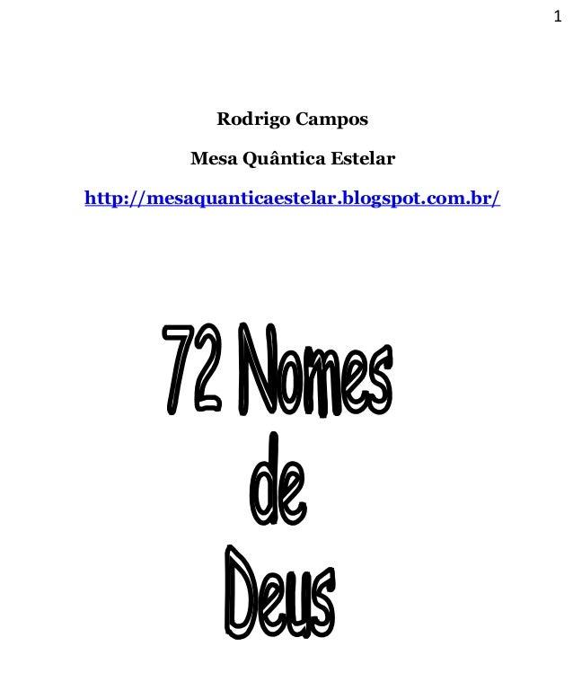 1 Rodrigo Campos Mesa Quântica Estelar http://mesaquanticaestelar.blogspot.com.br/
